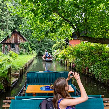 Spreewald, el bosque navegable refugio de los berlineses